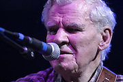 Jun 11, 2004; Manchester, TN, USA;  Doc Watson performing at Bonnaroo 2004. Mandatory Credit: (©) Copyright 2004 by Bryan Rinnert