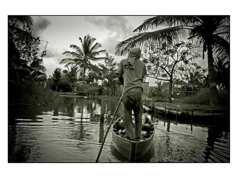 Autor de la Obra: Aaron Sosa<br /> T&iacute;tulo: &ldquo;Serie: Laguna de Sinamaica&rdquo;<br /> Lugar: Sinamaica, Estado Zulia - Venezuela <br /> A&ntilde;o de Creaci&oacute;n: 2009<br /> T&eacute;cnica: Captura digital en RAW impresa en papel 100% algod&oacute;n Ilford Galer&iacute;e Prestige Silk 310gsm<br /> Medidas de la fotograf&iacute;a: 33,3 x 22,3 cms<br /> Medidas del soporte: 45 x 35 cms<br /> Observaciones: Cada obra esta debidamente firmada e identificada con &ldquo;grafito &ndash; material libre de acidez&rdquo; en la parte posterior. Tanto en la fotograf&iacute;a como en el soporte. La fotograf&iacute;a se fij&oacute; al cart&oacute;n con esquineros libres de &aacute;cido para as&iacute; evitar usar alg&uacute;n pegamento contaminante.<br /> <br /> Precio: Consultar<br /> Envios a nivel nacional  e internacional.