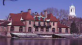 1997 Harvard Boathouse. Cambridge, Mass. USA