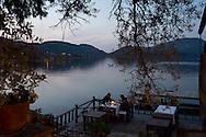 Dinner on the terrace at Sardunya