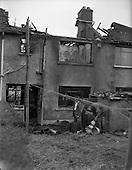 1960 - Sheridan family house fire at Walkinstown
