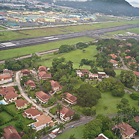 Gelabert Airport from the air