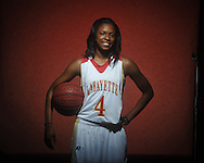 Lafayette High's Shaquilla Isom is a member of the Oxford Eagle's 2011 All-Area Team, photographed in Oxford, Miss. on Monday, April 11, 2011.