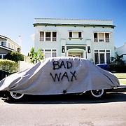 """""""Bad Wax"""". Los Feliz/Franklin Hills area, Los Angeles, CA."""