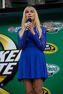 Concert - Laura Bell Bundy National Anthem NASCAR Quaker State 400 Sparta, Ky