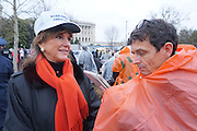 President Trump Inauguration in Washington_DC_01_2017 with reporter Peter Hossli.<br /> <br /> Photo &copy; Stefan Falke / www.stefanfalke.com stefanfalke@mac.com <br /> 917-2149029