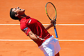 Spain vs Austria. 1/4 Final Davis Cup