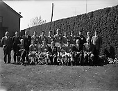 1962 - Schoolboys Hockey International Ireland v England at Londonbridge Road