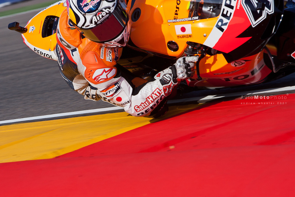 2011 MotoGP World Championship, Round 14, Motorland Aragon, Spain, 18 September 2011, Andrea Dovizioso