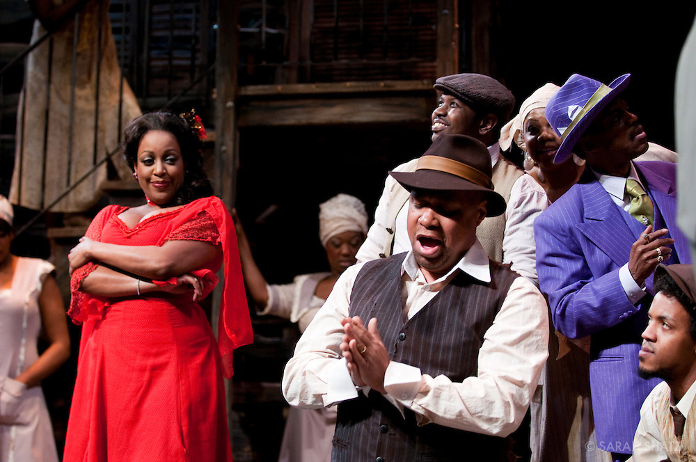 Porgy and Bess, 75th anniversary production, directed by Charles Randolph-Wright, presented by Michael Capasso and produced in association with Willette Murphy Klausner.