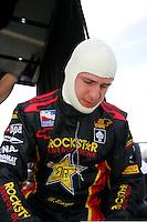 Tomas Enge at the Kansas Speedway, Kansas Indy 300, July 3, 2005