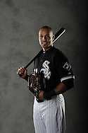 CHICAGO - APRIL 26:  Outfielder Alex Rios #51 of the Chicago White Sox poses for a portrait prior to the game against the Tampa Bay Rays on April 26, 2013 at U.S. Cellular Field in Chicago, Illinois.  (Photo by Ron Vesely)  Subject:    Alex Rios