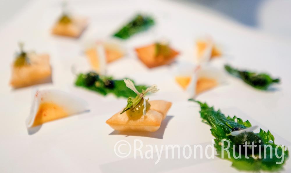 Netherlands -Amsterdam - Dinner Creation of Luc Kusters, Chef of Bolenius restaurant in Amsterdam . Frontman of the Dutch Cuisine . photo raymond rutting