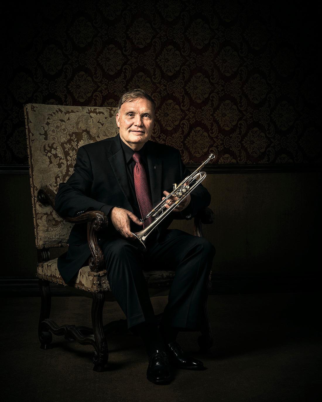 Phil Smith Retired Principal Trumpet, New York Philharmonic. — © Jeremy Lock/