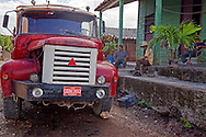Truck in Floro Perez, Holguin, Cuba.