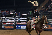 January 3, 2013- New York, New York- A Cowboy at the 2013 Elite Built Ford Tough Series Season Kicks Off the 20th anniversary of the Professional Bull Riding Competition  The PBR is the world's premier bull riding organization. 2013 marks the 20th anniversary of PBR competition. In just two decades, the dream of 20 bull riders has become a global sports phenomenon that is televised worldwide. More than 100 million viewers annually watch primetime PBR programming on networks around the world and nearly two million fans attend Built Ford Tough Series and Touring Pro Division events each year. (Terrence Jennings)