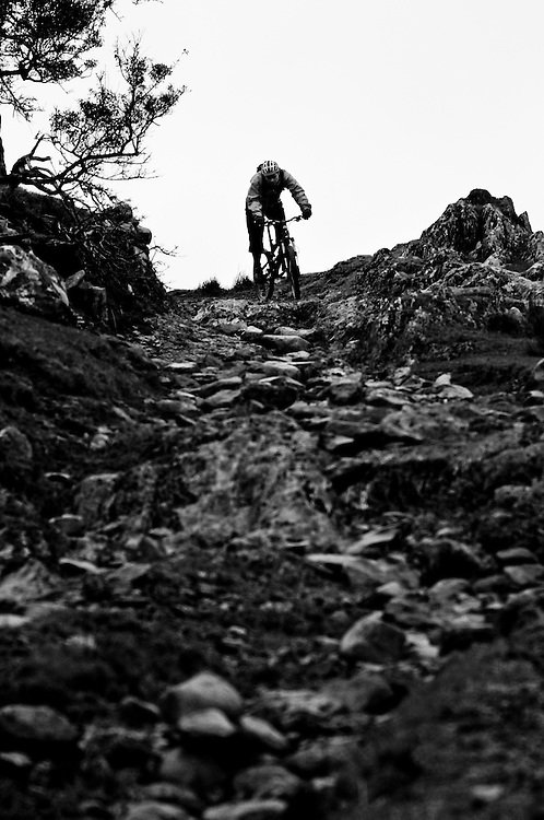 UK Trails. Mid Wales two day epic Nant y Arian to Mach to Coed y Brenin 29.11.05