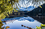 Morning Reflection at Auke Lake