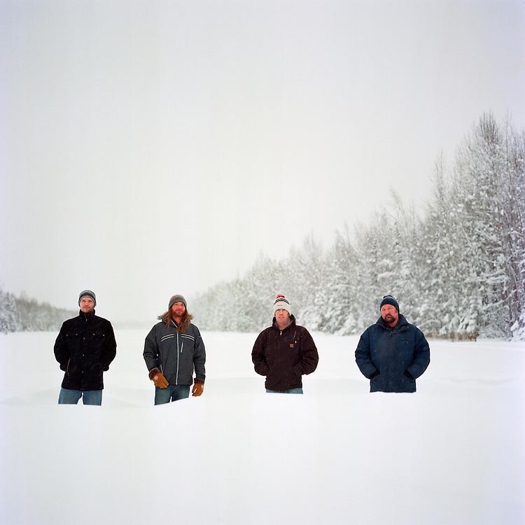 ANCHORAGE, ALASKA - 2012: The Jack River Kings.
