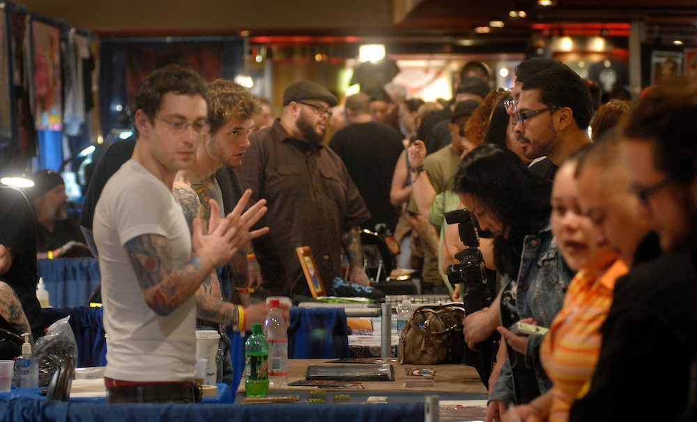 New York City Tattoo Convention 2009 at the Roseland Ballroom: