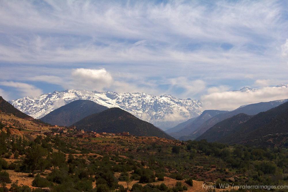 Africa, Morocco, Asni. Toubkal National Park.