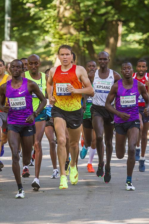 UAE Healthy Kidney 10K, Ben True leads race early