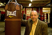Gleason's Gym, Dumbo, Brooklyn, New York.Bruce Silverglade (center) is the president and driving force of Gleason's gym. ....