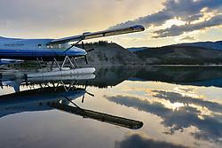 Early morning Sunrise at Schwatka Lake, Yukon