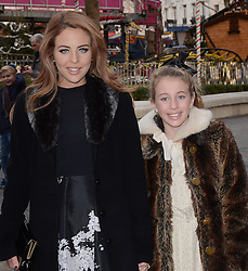 Lydia Bright and Romana attend Annie Gala Screening at Odeon West End, Leicester Square, London on Sunday 14 December 2014