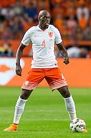 AMSTERDAM - Nederland - USA , Amsterdam ArenA , Voetbal , oefeninterland , 05-06-2015 ,  Nederlands elftal speler Bruno Martins Indi