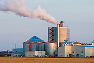 A large new ethanol plant has begun production of the fuel additive near Rochelle, IL.