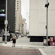 Down town Houston street scene
