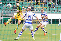 DEN HAAG - ADO Den Haag - De Graafschap , Voetbal , Eredivisie, Seizoen 2015/2016 , Kyocera stadion , 18-10-2015 , ADO Den Haag speler Mike Havenaar scoort de 1-0