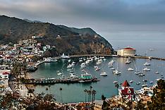 Catalina Island Panoramics Stock Photos