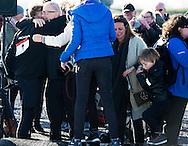 BIDDINGHUIZEN - Prins Bernhard omhelst zijn vader Pieter van Vollenhoven tijdens de eerste editie van de Hollandse 100 tegen lymfeklierkanker, een initiatief van de prins. Het evenement is georganiseerd om geld op te halen voor Lymph&Co, een fonds dat zich inzet voor onderzoek naar lymfeklierkanker Prince Bernhard hugs his father Pieter van Vollenhoven during the first edition of the Hollandse 100 (the Dutch 100), in Biddinghuizen, The Netherlands, 8 March 2015, an initiative from Prince Bernhard against lymph node cancer. The event is organized to raise money for a fund that Lymph & co., which is dedicated to research on lymph node cancer. Prince Bernhard, second son of former Queen Beatrix sister Margriet, has earlier been diagnosed with the cancer Non-Hodgkin lymphoma. Prins Pieter-Christiaan (blauw) start tijdens de eerste editie van de Hollandse 100 tegen lymfeklierkanker, een initiatief van prins Bernhard. Het evenement is georganiseerd om geld op te halen voor Lymph&Co, een fonds dat zich inzet voor onderzoek naar lymfeklierkanker.Prins Bernhard omhelst zijn gezin onder toeziend oog van Pieter van Vollenhoven (L) en prinses Annette tijdens de eerste editie van de Hollandse 100 tegen lymfeklierkanker, een initiatief van de prins. Het evenement is georganiseerd om geld op te halen voor Lymph&Co, een fonds dat zich inzet voor onderzoek naar lymfeklierkanker. COPYRIGHT ROBIN UTRECHT