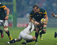 GEORGE, SOUTH AFRICA - JUNE 17: Jason Jenkins of South Africa during the match between South Africa 'A' and England Saxons at Outeniqua Park on June 17 2016 in George, South Africa. (Photo by Roger Sedres/Gallo Images)