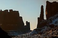 Park Avenue, Arches National Park, Utah