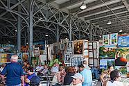 Arts and Crafts Market, Almacenes San Jose. Havana Vieja, Cuba.