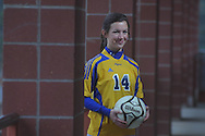 Oxford High soccer player Meredith Sanford in Oxford, Miss., on Thursday, January 20, 2011.