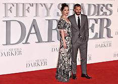 9 FEB 2017 Fifty Shades Darker UK Premiere