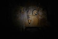 I denti della macchina che scava il carbone che poi viene trasposrtato e trattato fuori dalla miniera