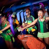 Brixton: Jamaicans support Usain Bolt