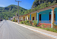 Street in Sumidero, Pinar del Rio, Cuba.