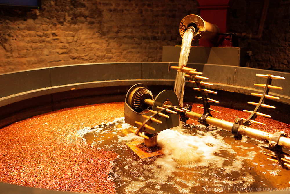 Europe, Ireland, Dublin. Old Jameson Distillery Mash Tun.