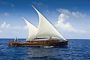 Sailing Dhoni. Maldives resort Huvafen Fushi, Maldives is managed by luxury brand Per Aquum Resorts and Spas - featuring world-first Underwater Spa.