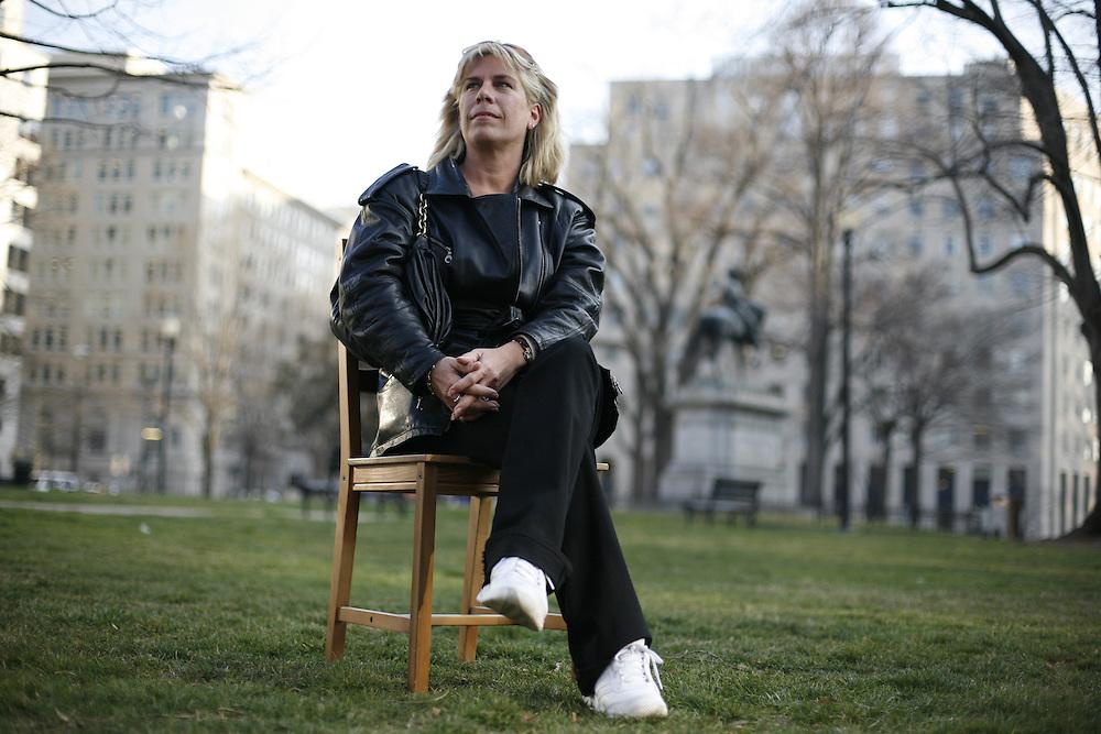 Washington, Feb. 25, 2008 - Jessica Ollenburg, CEO, HRS Inc., Milwaukee, Wis.