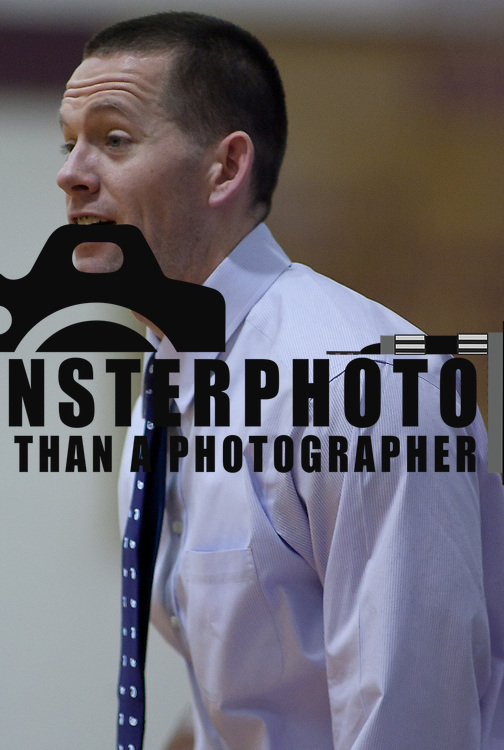 12/27/11 Wilmington DE: Tatnall Head Coach Paul Smith during a Diamond State Classic game against the Catonsville Comets of Baltimore Tuesday Dec. 28, 2011 at St. Elizabeth High School High School in Wilmington Delaware...Special to The News Journal/SAQUAN STIMPSON