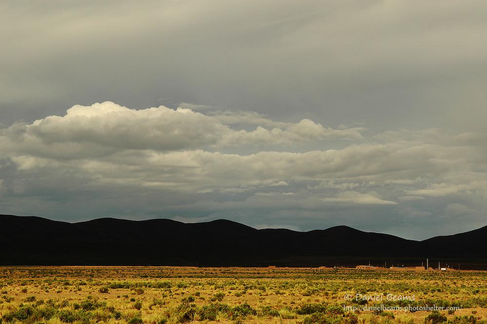 Landscape near La Paz, Bolivia