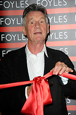 JUN 11 2014 Michael Palin new Foyles book store