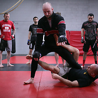 Jackson's/Winkeljohn's: January 16, 2012 Greg Jackson's grappling class at Jackson's/Winkeljohn's in Albuquerque, NM